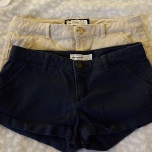 Low rise kids shorts 2 for 15